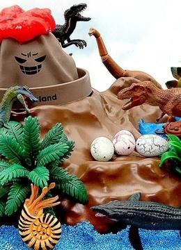 侏罗纪?#33267;?#20048;园 益智早教玩具 亲子玩具