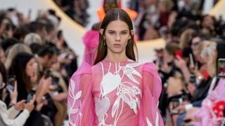 Valentino 2020春夏巴黎时装发布会
